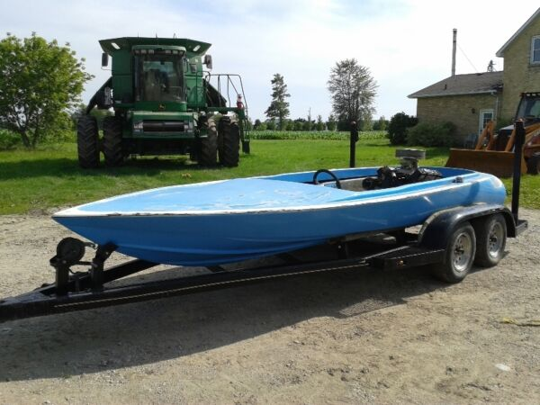 Used 1974 Other cougar jet boat