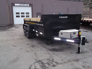 2018 Southland Dump trailer 7' x 14' Lowest price of the year!
