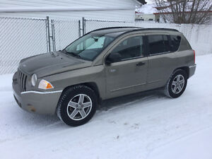 2008 JEEP COMPASS NORTH 4x4 HEATED SEATS 100,000KM