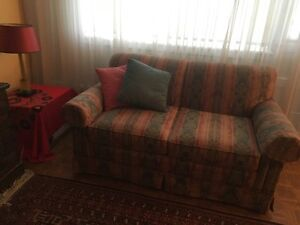 Causeuse (canapé) (divan) (sofa) 2 places (love seat)