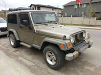 2005 Jeep TJ Unlimited SUV, Crossover