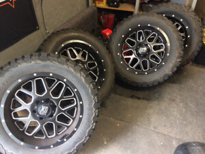 XD 20 inch rims and tires