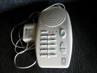 Baby Soothing Sound Therapy Machine.