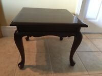 Gibbard Solid Mahogany Side and Coffee Tables