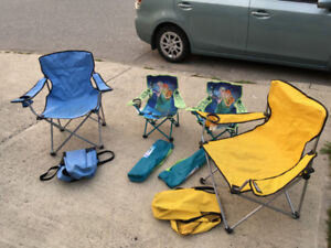 Camping Chairs - $3 (Port Coquitlam)