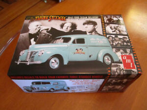 Three Stooges 1940 Delivery Truck Model Kit