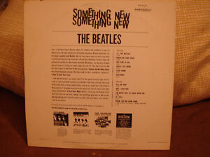 THE BEATLES Something New CAPITOL RECORDS Strathcona County Edmonton Area image 2