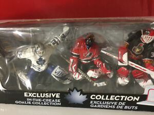 NHL GOALIES ACTION FIGURES