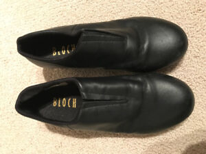 Youth Black Bloch Tap Shoes