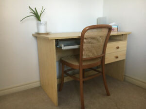 Desk with bonus chair! Great for student
