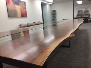 LIVE EDGE TABLES WOOD HARVEST TABLE LIVE EDGE DINING TABLE
