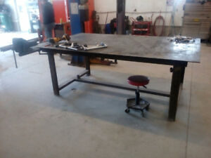 Custom tool bench work bench