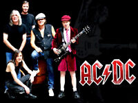 AC/DC tickets side by side stade olympique montreal 31 aout 2015