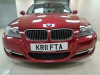 BMW 3 Series 2.0 318d Exclusive Edition Red £30 Tax DIESEL WARRANTY 12 MONTH MOT