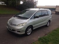 TOYOTA PRIVEA 2.4 T3 AUTOMATIC 2006 06 REG + ONLY DONE 96K MILES + 12 MONTHS MOT + ANY TRAIL