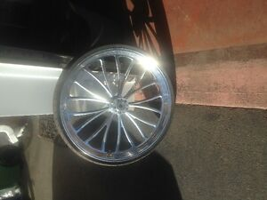 "Brand new never used 26"" front wheel and tire for harley touring"