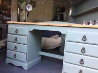 Rustic desk / dressing table