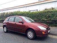 2001 Ford Focus 1.4 CL 12 months mot Low Miles. Drives Superb.