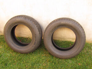 """""""2 NEVER USED 215/65/15 MOTOMASTER TIRES"""""""