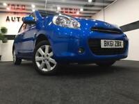 Nissan Micra 1.2 12v ( 2011 ) Acenta / SAT NAV / LOW MILEAGE / 2 KEYS