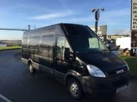 2009 09 IVECO-FORD DAILY 2.3 35S12V LWB HIGH ROOF 116 BHP DIESEL