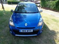 2011 Renault Clio 1.2 16v Dynamique Tom Tom[SAT NAV+AUX+CRUISE+AC+LEATHER+FSH]