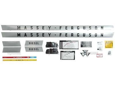 Massey-ferguson Mf 135 Mf135 Us Tractor Complete Vinyl Decal Setkit Gasdiesel