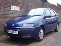 Fiat Punto 1.2 ( 60bhp ) Dynamic 2003(03) 5 Door Hatchback