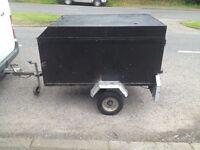 Box trailer ideal for quad £175