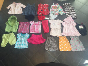 Girls 6-12 month summer lot