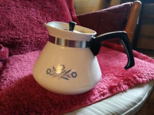 Corning ware tea pot