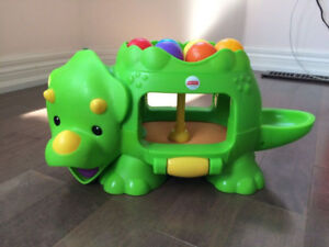 Fisher-Price Double Poppin Dino