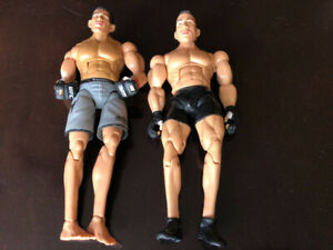 2 UFC ACTION FIGURES, ANTONIO NOGUEIRA AND MARK COLEMAN