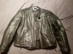 Ladies real motorcycle jacket