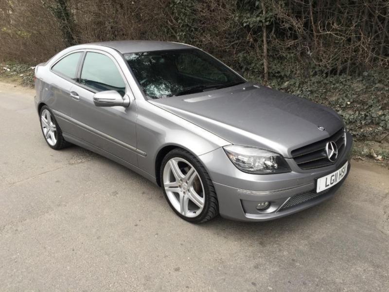 Mercedes benz clc coupe clc180 kompressor sport petrol for Mercedes benz clc coupe