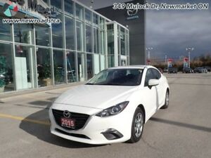 2015 Mazda Mazda3 GX - Bluetooth - $92.54 B/W