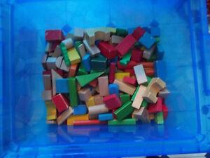 blocks de bois