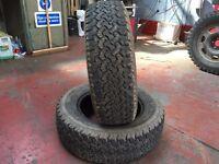 Event ML698 4x4 tyres x2