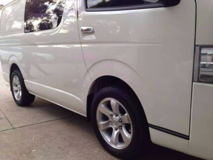 """17""""4wd WHEELS,fit TOYOTA Hiace,Colorado,Hilux,iload with235/55r17"""