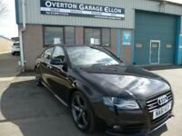 2011 Audi A4 2.0TDI QUATTRO S LINE BLACK EDITION Diesel black Manual