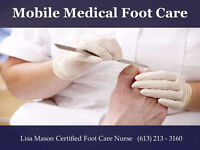 MOBILE MEDICAL FOOT CARE  Caring for your feet @ your doorstep