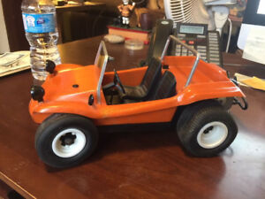 VINTAGE COX .049 GAS POWERED DUNE BUGGY 1970'S !!!