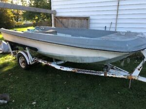 Dell Quay 18' Dory with Trailer (Boston Whaler Style Boat)