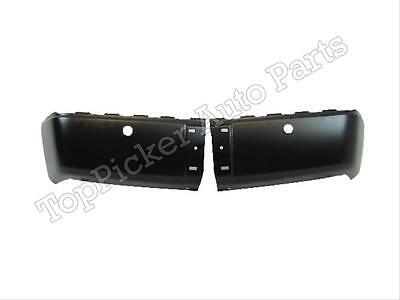 For 2007-2013 CHEVY SILVERADO GMC SIERRA REAR BUMPER END/CAP  W/SENSOR HOLE SET