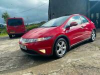 "2009 HONDA CIVIC 1.8 ES VTEC PAN ROOF 16"" ALLOYS 2 OWNERS NICE CAR GREAT DRIVER"