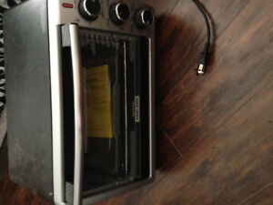 Black and decker toaster oven.  Brand new