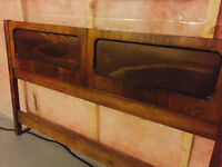 Antique/Rustic Queen Size Headboard - Perfect Condition