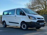 2017 Ford Transit Custom 2.0 TDCi 310 Kombi M1 L2 H1 5dr (EU6, 9 Seats) Minibus