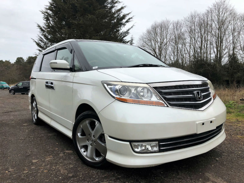FRESH IMPORT 2007 NEW SHAPE HONDA ELYSION PRESTIGE V6 V-TEC AUCTION GRADE 4