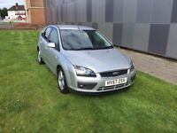 One month warranty Silver Ford Focus zet 1.6 petrol milage 63,000 gearbox automatic.